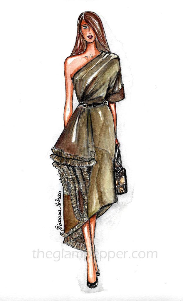 Moda Dresses ModaBozzetto E Disegno IllustrationDrawing Di rCoexdB