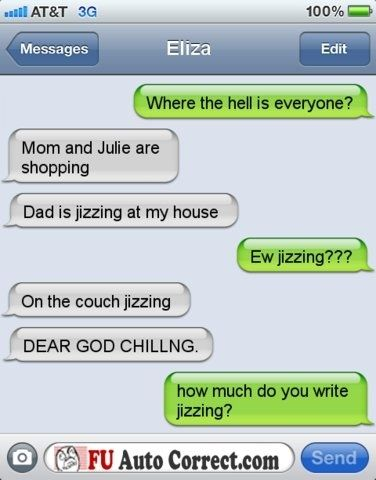 29 Unintentionally Dirty Autocorrect Mistakes | Hilarious