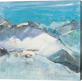 Says Ii Aqua By Kellie Day Canvas Art Multi Canvas Art Framed Art Canvas Prints