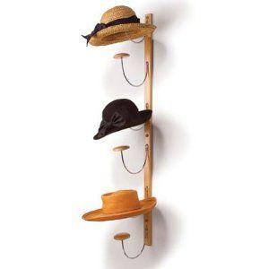 Hat Hanger Ideas Amazon Com Vertical Hat Rack Home Kitchen Diy Hat Rack Hat Rack Wall Hat Racks