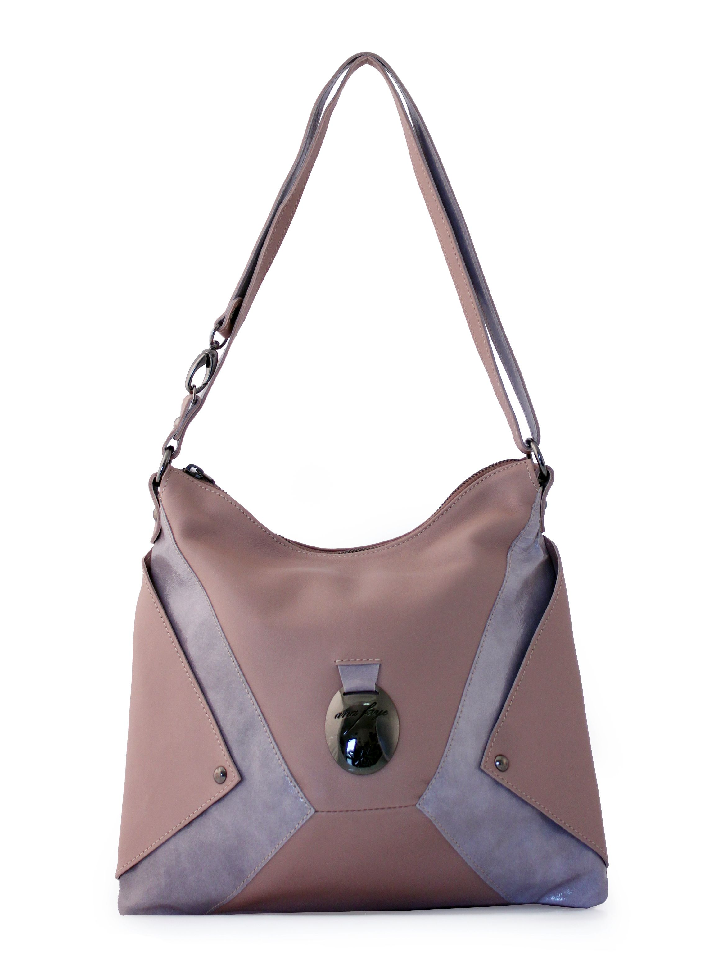 Ana Faye Leigh Grey Handbag