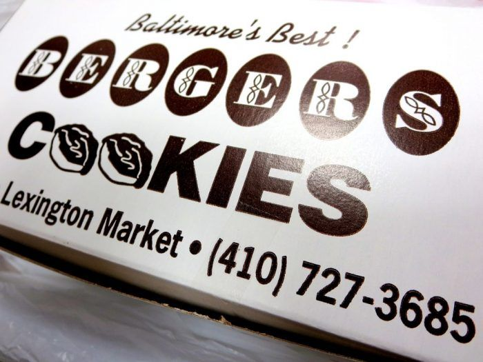 4. Bergers Cookies from Berger's Bakery, Baltimore