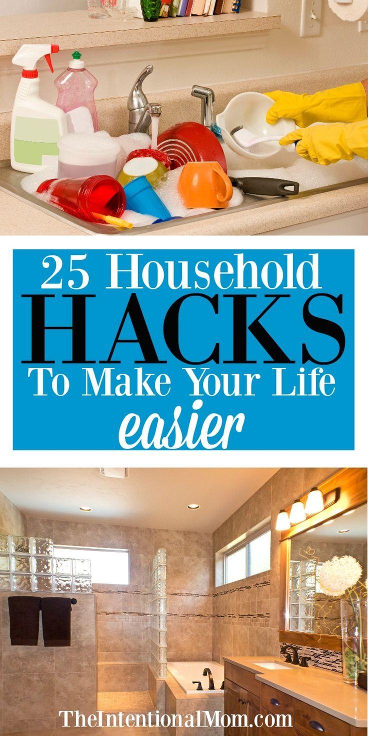 25 Household Hacks to Make Your Life Easier