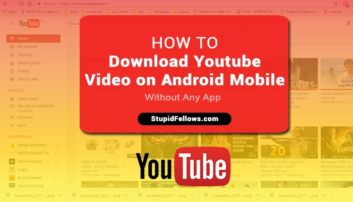How to download youtube videos free without any app exclusive how to download youtube videos free without any app exclusive method 2017 ccuart Image collections