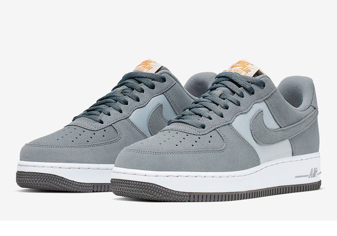 Nike Air Force 1 Cool Grey Adds Retro Hits With Exposed