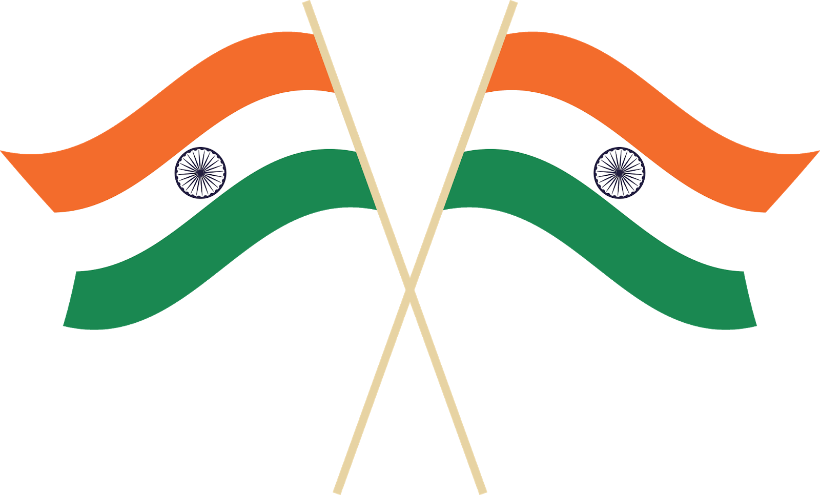 Indian Flag Png Vector 02 1600x966
