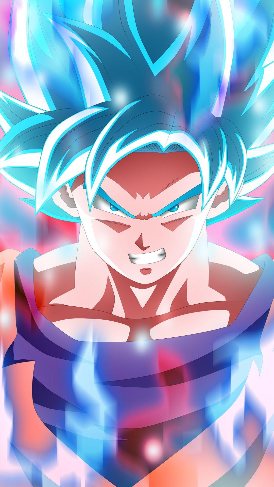 Goku God Blue Mobile Hd Wallpaper Anime Dragon Ball Super Dragon Ball Wallpapers Goku Wallpaper