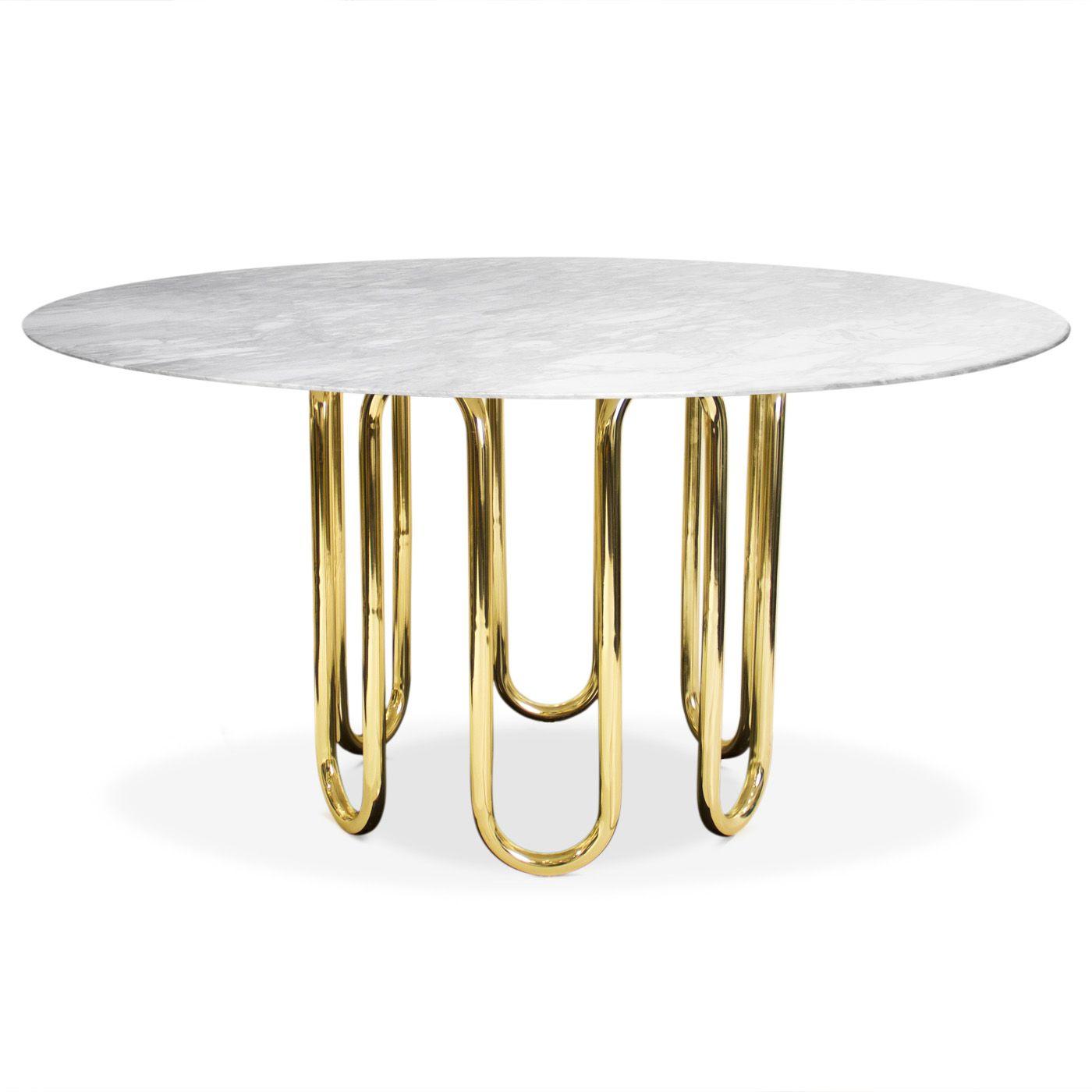 Modern Furniture   Scalinatella Dining Table   Jonathan Adler 137 Cm  Diameter X 74.5 Cm High