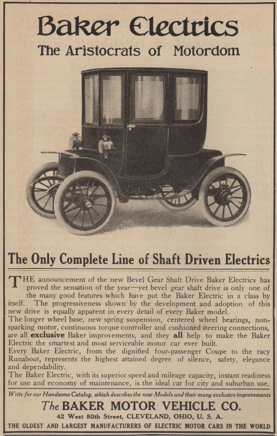 The First Golden Age Of Electric Car Advertising 2