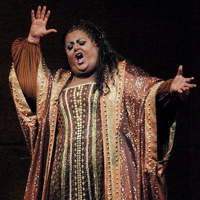Deborah Voigt: kilos y Aida