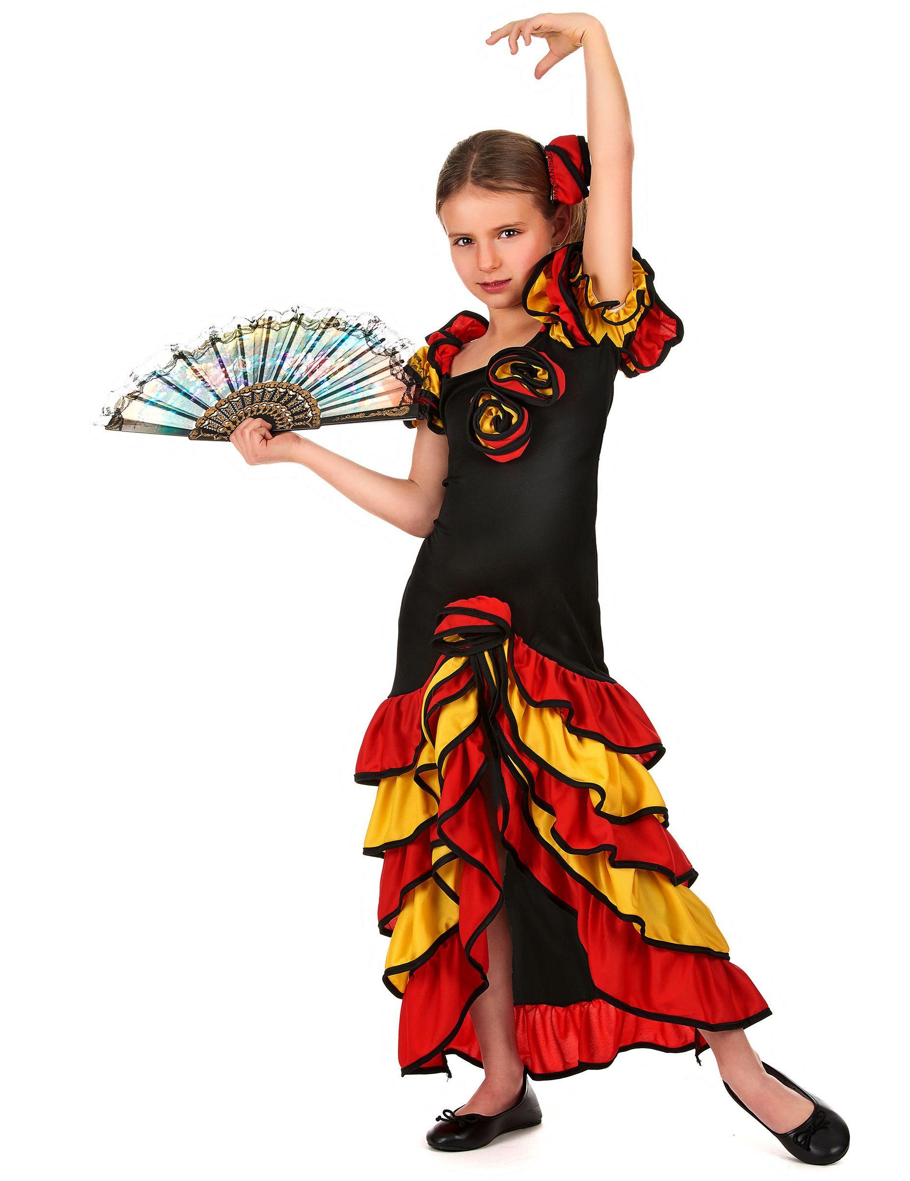 super popular 9c13a d69f2 Costume ballerina spagnola bambina | Carnevale | Costume da ...