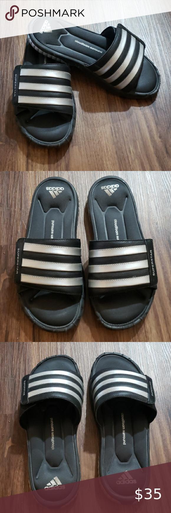 Adidas Superstar Cloudfoam Slides in