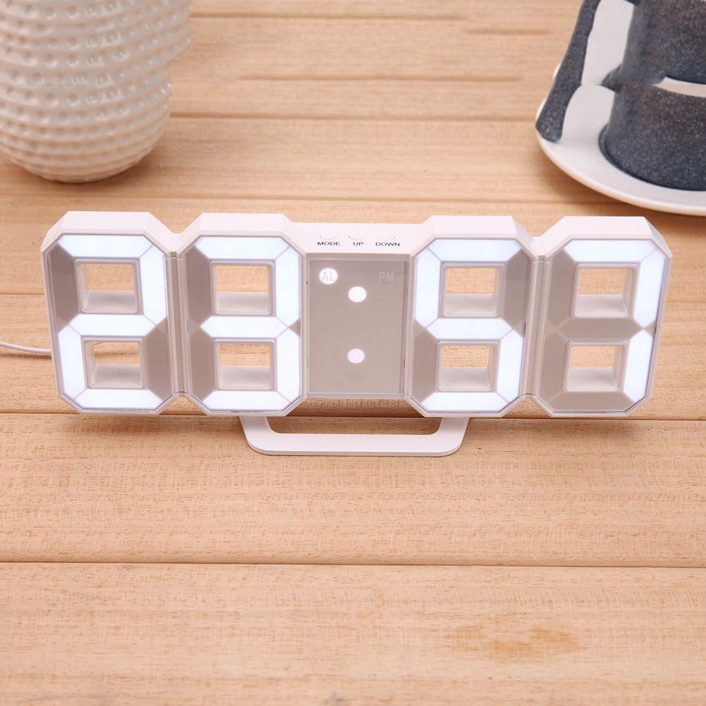 Moseko Rp 97 300 Digital Table Clock Wall Clock Digital Led