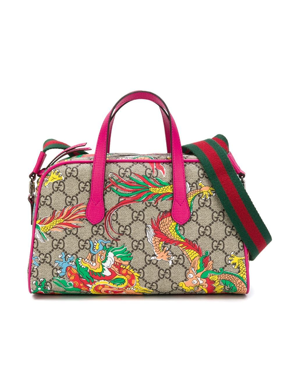 c93f109a2 gucci #bags #gg #bowling #kids #bag #dragon #print #style #fashion ...