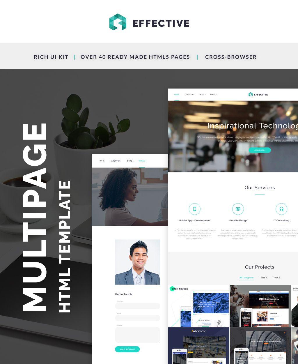 It Company Html Template Website Template It Company Website Business Website Templates