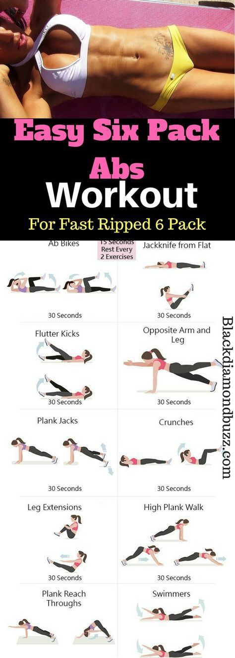 how to get six pack fast in a week
