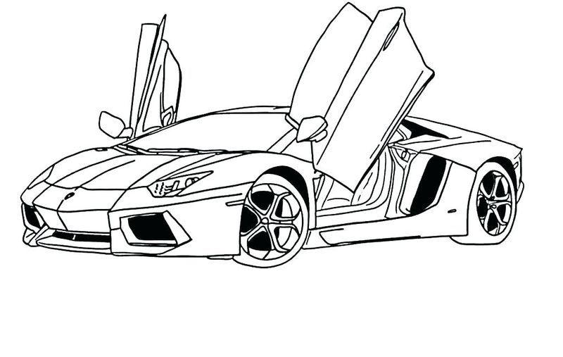 Kids Car Coloring Pages Sports Coloring Pages Race Car Coloring Pages Cars Coloring Pages