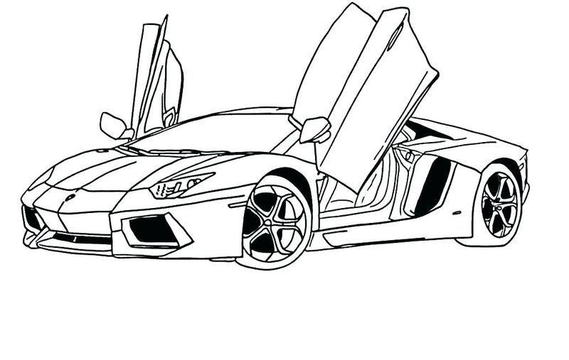 Kids Car Coloring Pages Gambar Mobil Karikatur