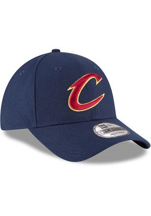 sale retailer 5445c bd6c6 New Era Cleveland Cavaliers Mens Navy Blue The League 9FORTY Adjustable Hat