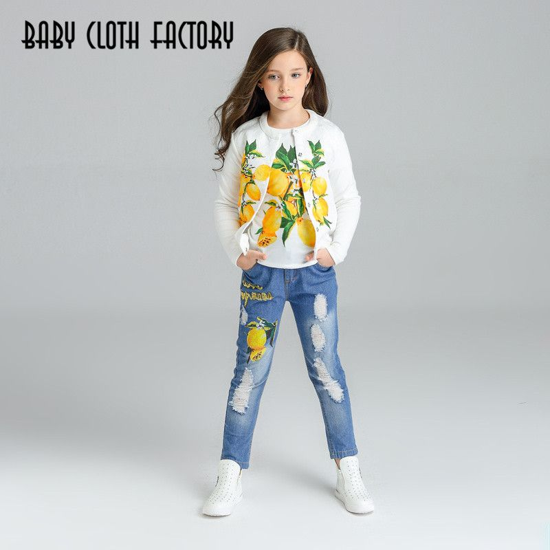 $23.50 (Buy here: https://alitems.com/g/1e8d114494ebda23ff8b16525dc3e8/?i=5&ulp=https%3A%2F%2Fwww.aliexpress.com%2Fitem%2FGirls-Clothing-Sets-2016-Kids-Clothes-Designer-Girls-Outfits-Autumn-Fille-Children-Tracksuit-Girls-Clothes-Coat%2F32708612267.html ) Girls Clothing Sets 2016 Kids Clothes Designer Girls Outfits Autumn  Fille Children Tracksuit Girls Clothes (Coat+T-shirt+Pants) for just $23.50