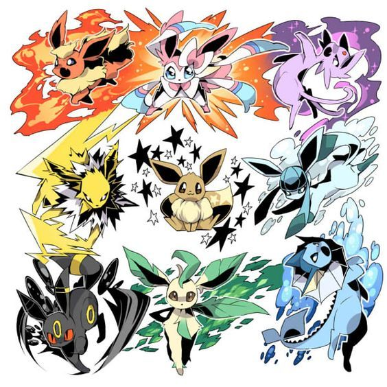 Pin By Edward On Eeveelutions 4ever