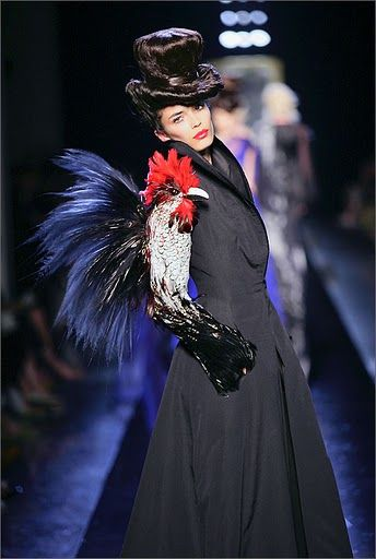 """Les Surrealistes"" collection / Hecate coat-dress / Haute Couture F/W 2006-2007 @Patrice Stable / Jean Paul Gaultier"