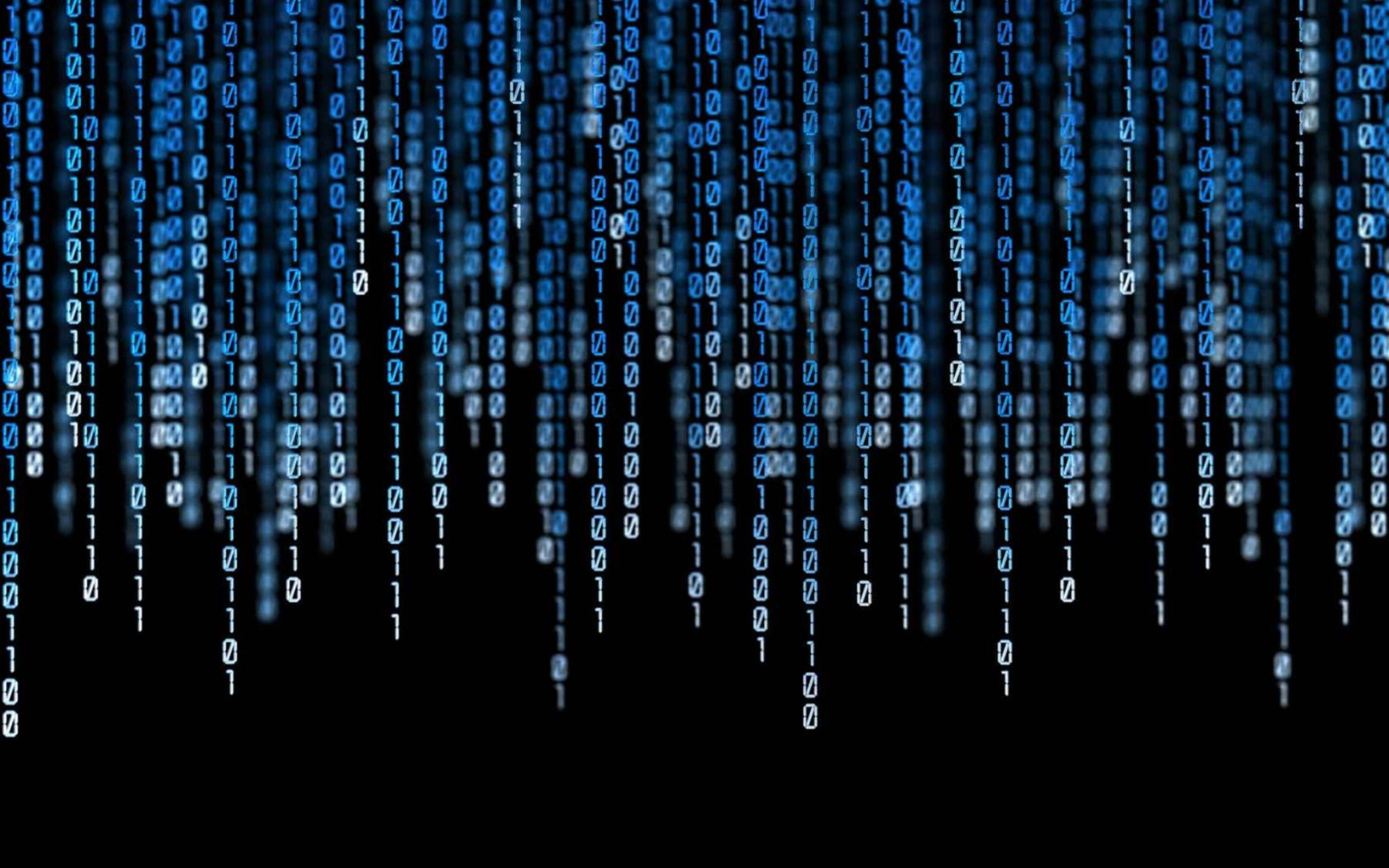 Blue Matrix Wallpapers Hd Sdeerwallpaper Technology Wallpaper Binary Code Coding