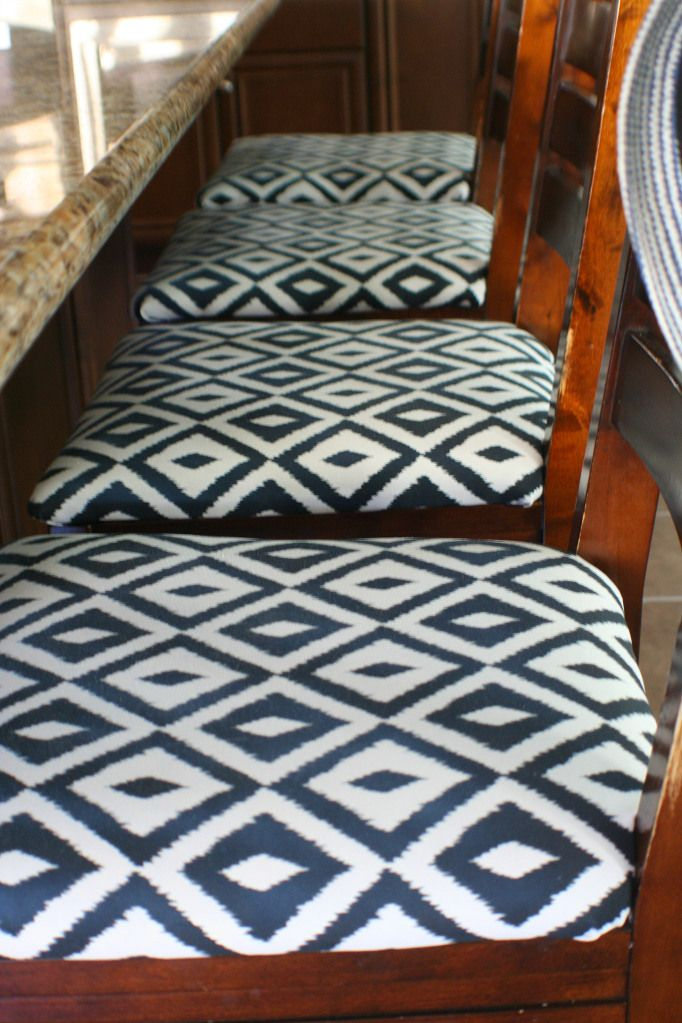 Reupholstering Kid Proofing Our Bar Stools Bar Chairs Diy