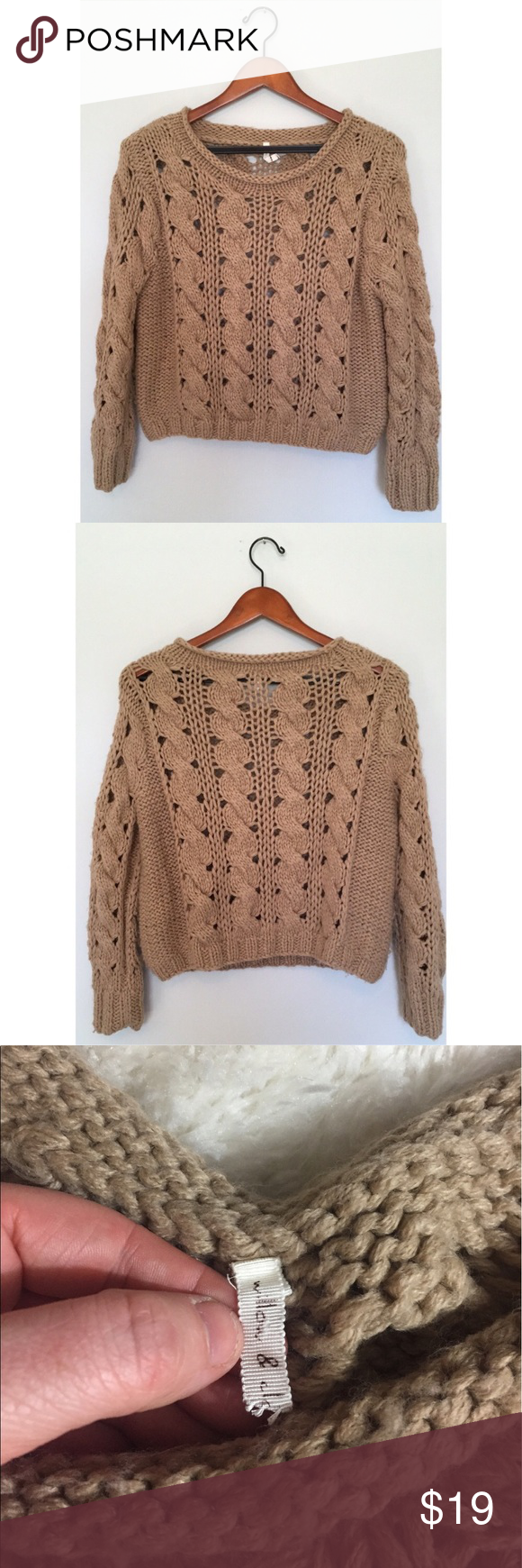 Anthropologie chunky knit sweater | Anthropologie
