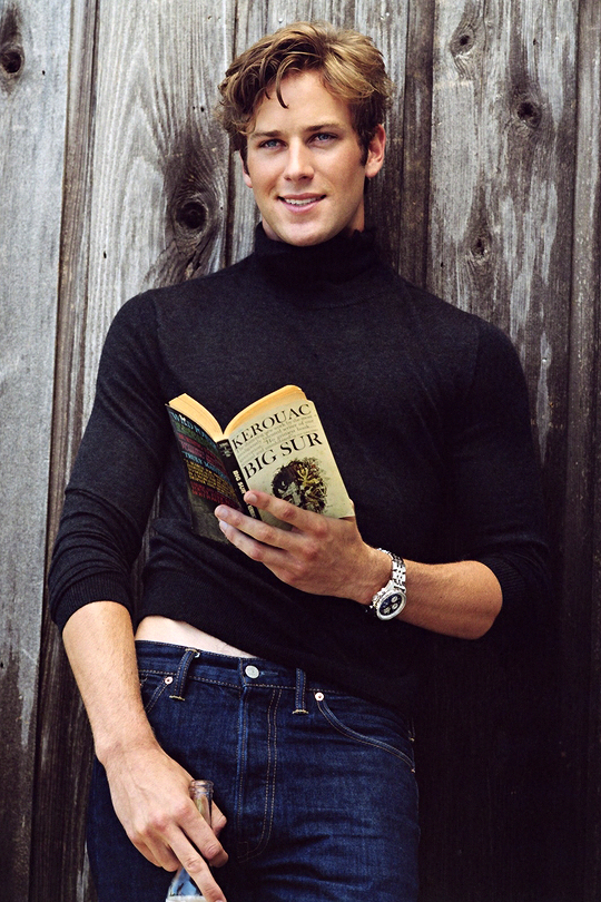 Armie Hammer photographed by Bruce Weber for Vanity Fair ...