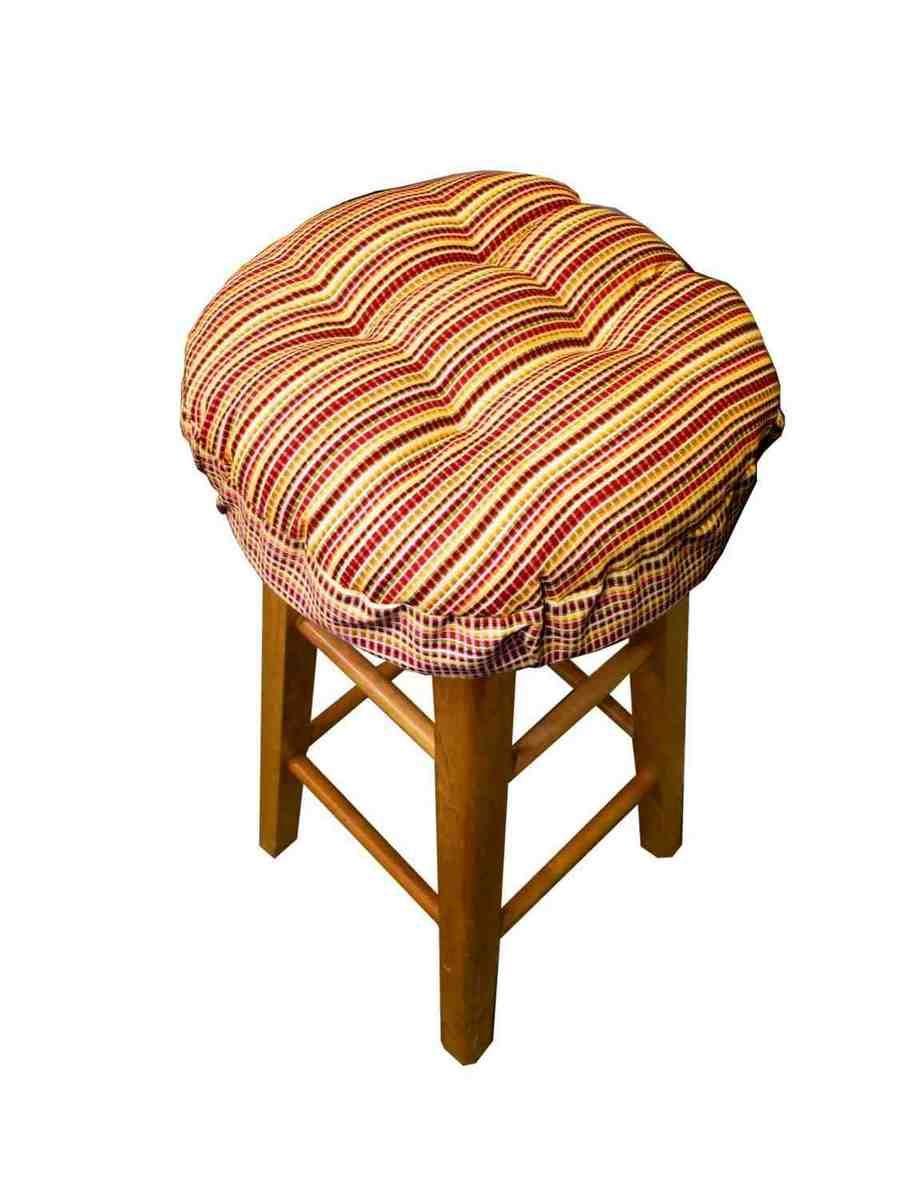 Round Bar Stool Pads Mit Bildern Barhocker Hocker Holz