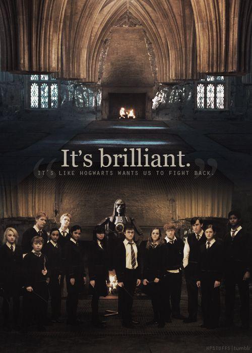 Harry Potter Stuff Poudlard Armee De Dumbledore Je Te Veux