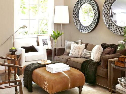 Best Ideas For Small Living Room Furniture Arrangements Brown 400 x 300