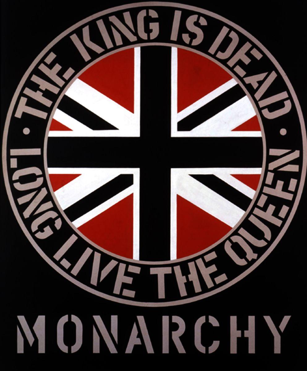 "Robert Indiana art - ""Monarchy"" - 1969"