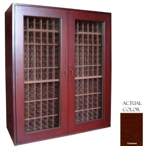 Vinotemp Vino-sonoma500-cn Sonoma 500 Bottle Wine Cellar - Glass Door / Chestnut Cabinet by Vinotemp. $5939.00. Vinotemp VINO-SONOMA500-CN Sonoma 500 Bottle Wine Cellar - Glass Door / Chestnut Cabinet. VINO-SONOMA500-CN. Wine Cellars. Premium wood and contemporary styling evoke a timeless appearance for our Sonoma Series Wine Cellars. With a storage capacity of up to 510 bottles, this model is the largest in the Sonoma Series and features all-wood Redwood racking. ...