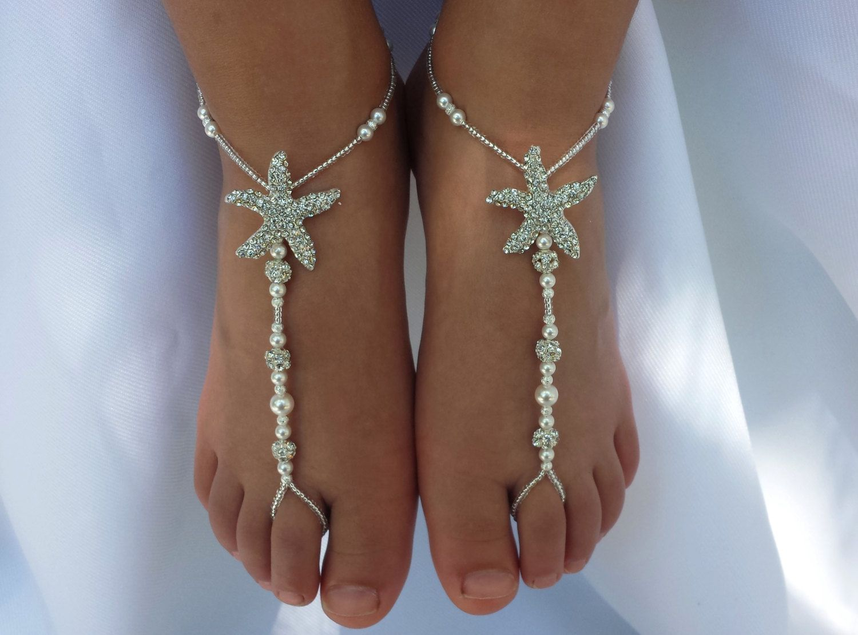 Starfish Barefoot Sandals Wedding