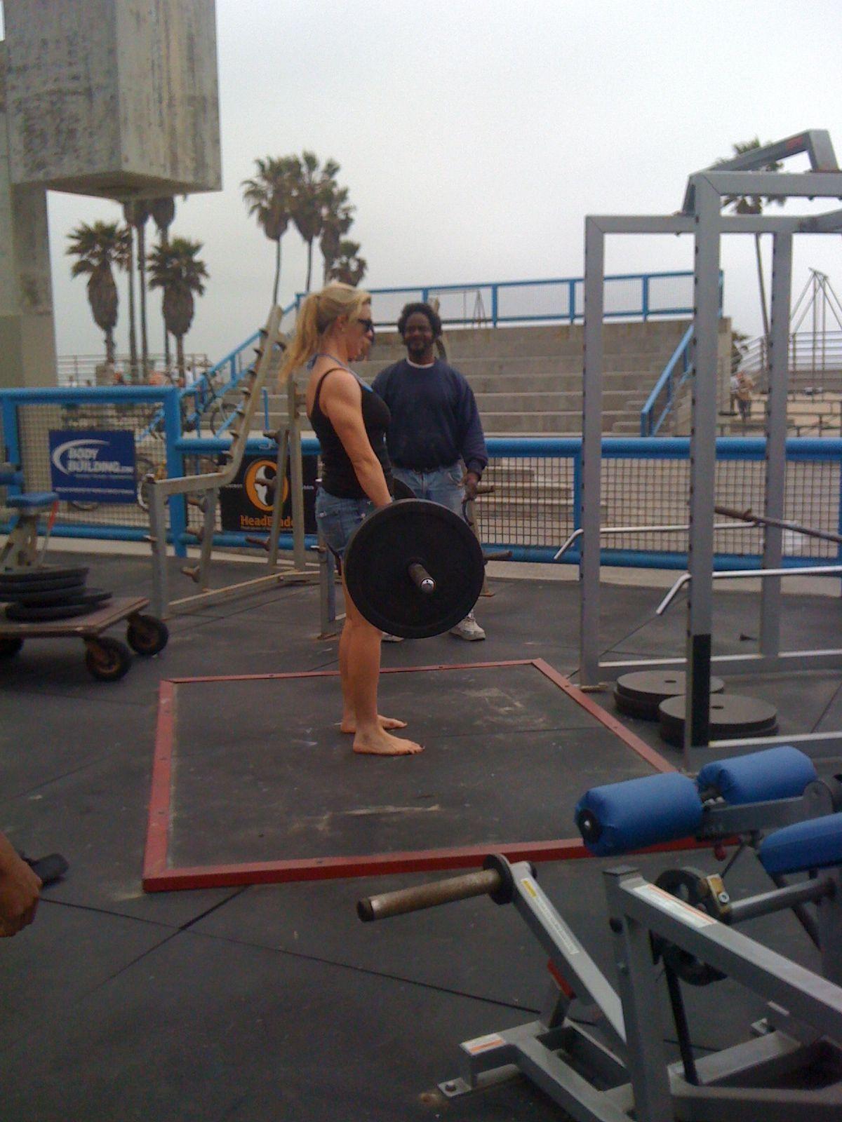 benching own weight