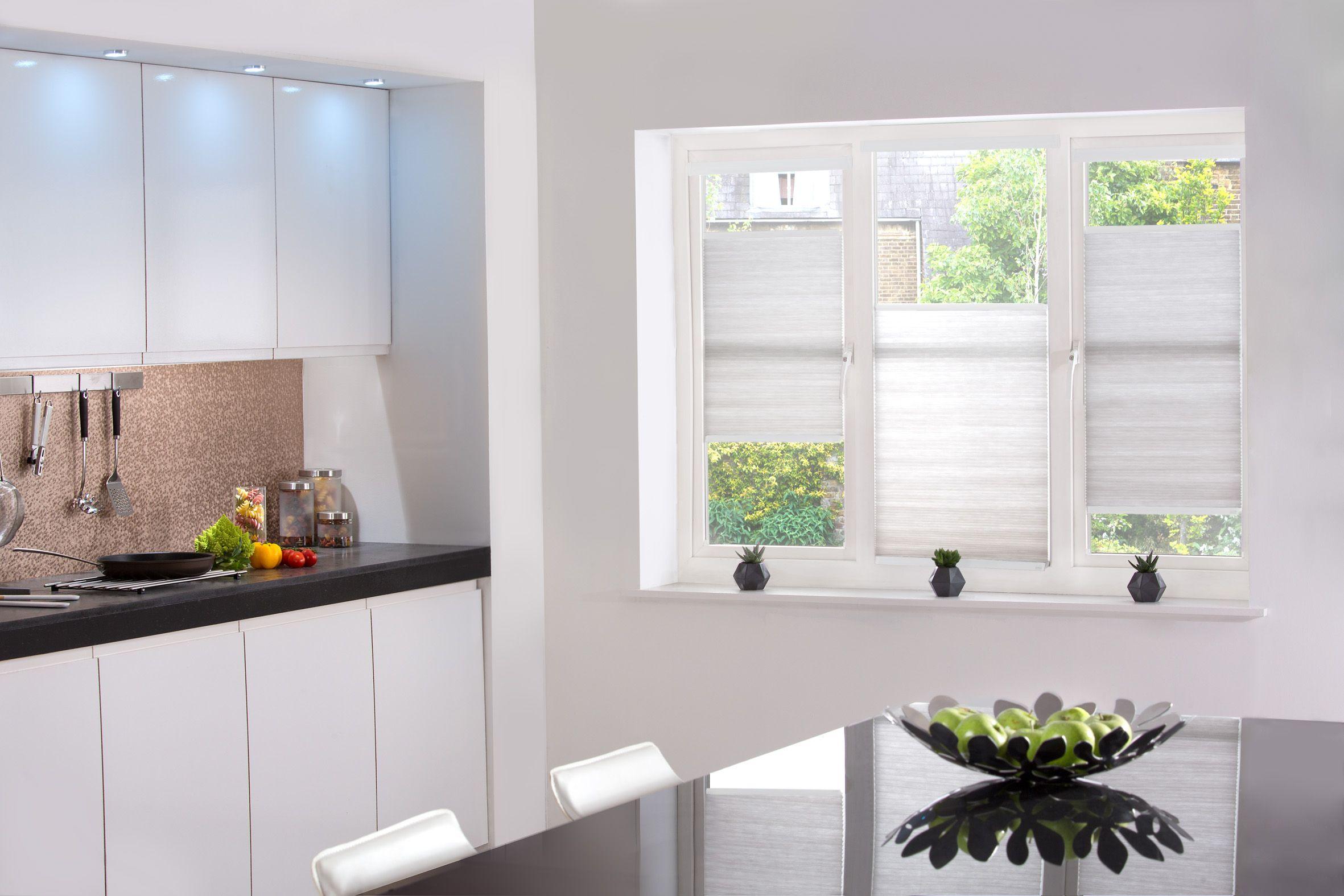 Kitchen window kitchen blinds  style studio hive silkweave blinds in ash kitchen blinds best