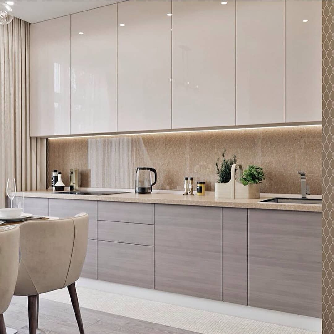 Interior Design Kitchen Altbauwohnung Küche   L Form Holz Fenster  Küchenzeile