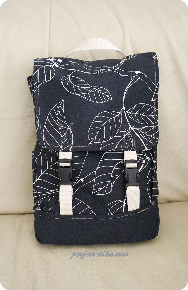 Convertible Diy Mini Backpack Project Aika Diy Backpack