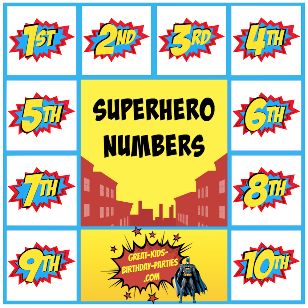 Superhero Printables Party labels Superhero party and Party