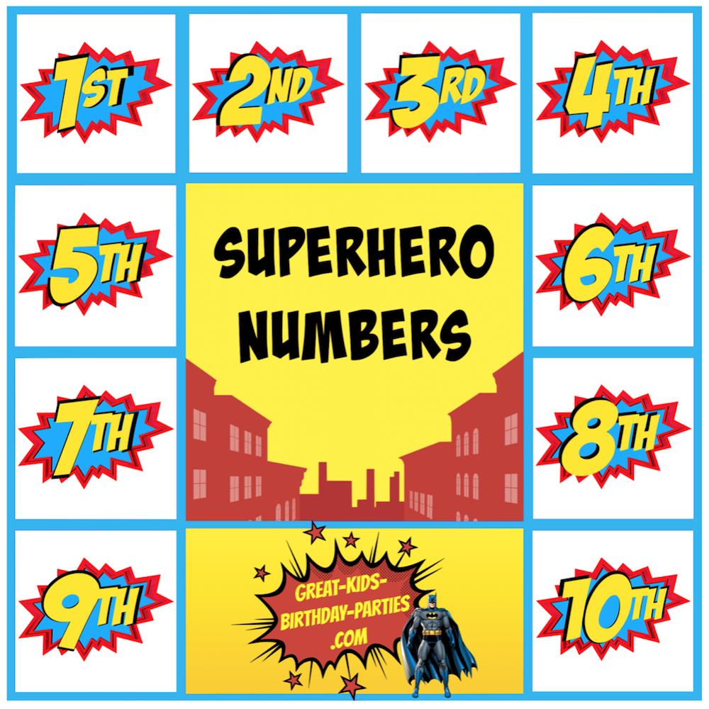 superhero birthday invitations wblqual com