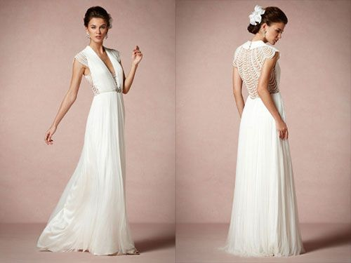 25 Dazzling Art Deco Wedding Gowns | Deco & Nouveau Wedding ...