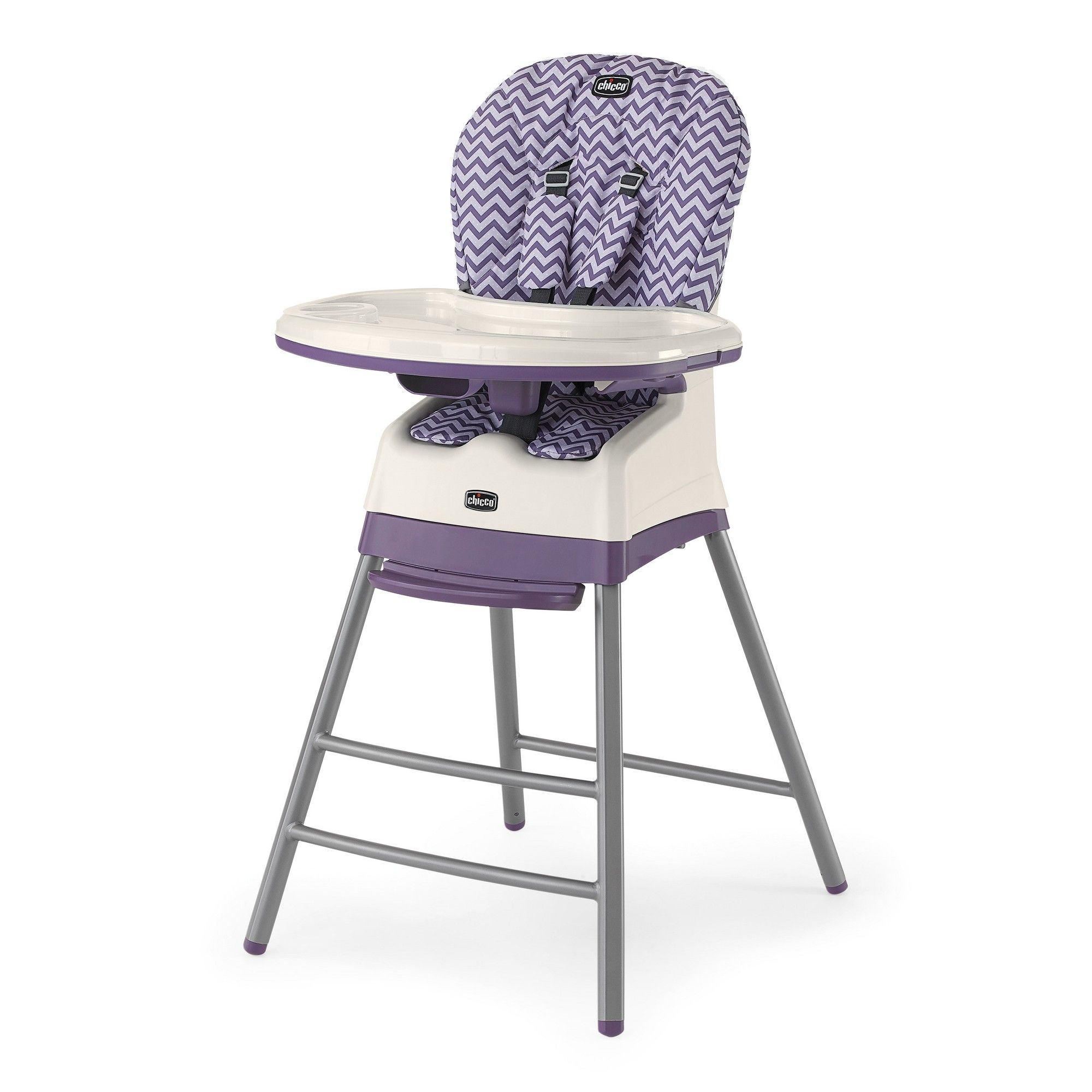 Graco high chair 4 in 1 chicco stack  in  high chair mulberry pink  high chairs and