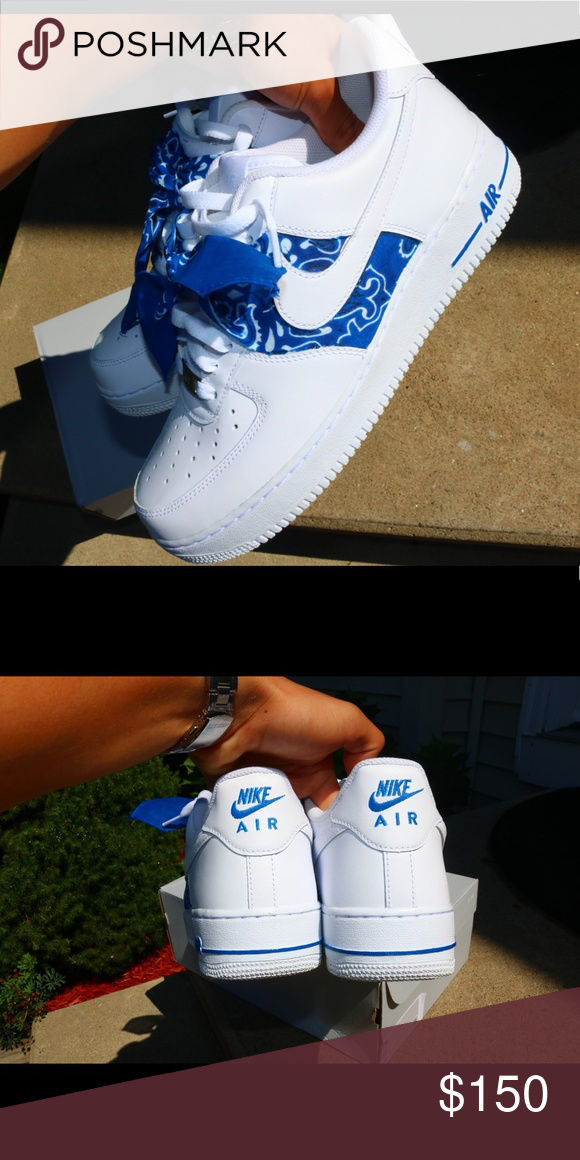 Custom Air Force 1's NWT (With images) Custom nike shoes