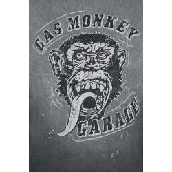 Gas Monkey Garage Big Face Herren-T-Shirt - schwarz - Offizieller & Lizenzierter Fanartikel #gasmonkeygarage