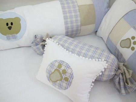 Kit de berço Urso de patchwork | Kit de berço | Pinterest | Nähen