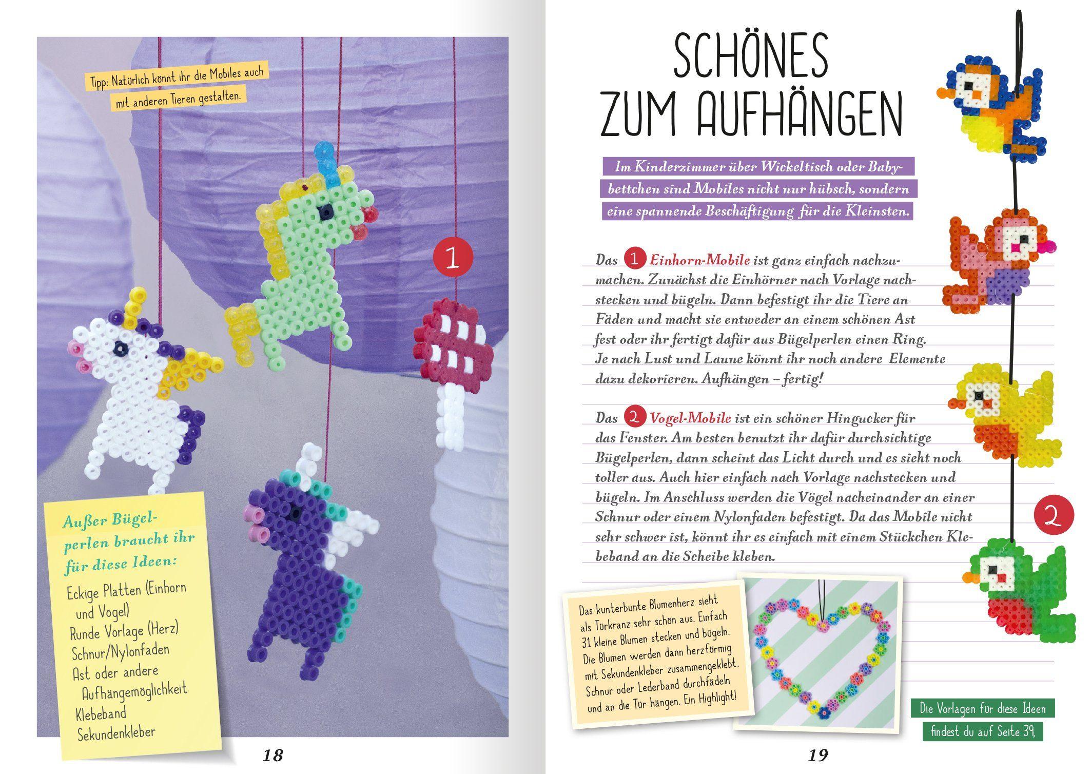 Bügelperlen: Amazon.de: Jennifer Wilderich-Lang: Bücher | unicorn ...