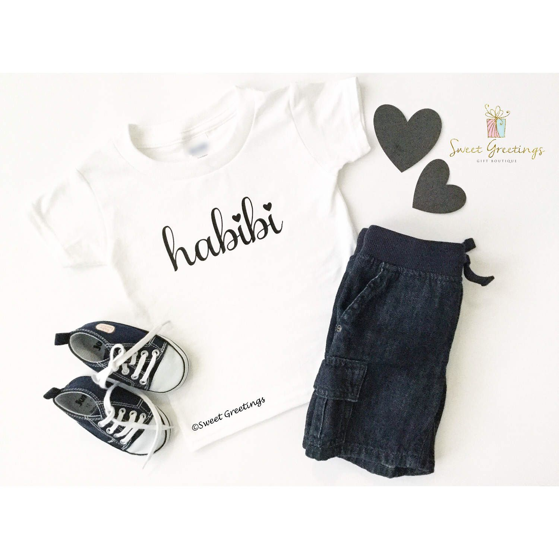 Baby Gifts For Muslim : Habibi shirt or bodysuit eid gift ramadan muslim