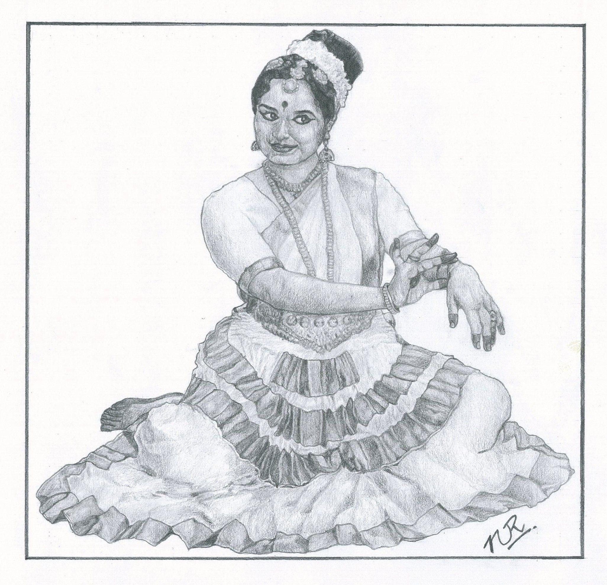 Mohiniattam, Kerala | Dance of india, Sketches, Kerala ...